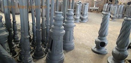 Cột đèn sân vườn, Trụ sân vườn Hapulico Industry