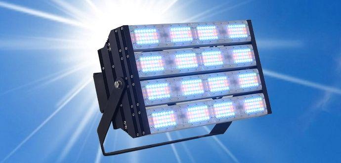 Đèn pha led đổi màu AVA-4M2 STEADY 400W