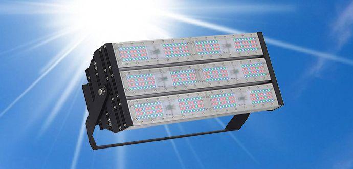 Đèn pha led đổi màu AVA-3M2 DMX512 300W